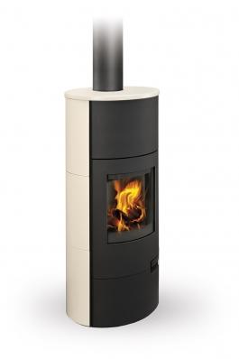 LUGO 01 W keramika - krbová kamna s teplovodním výmìníkem